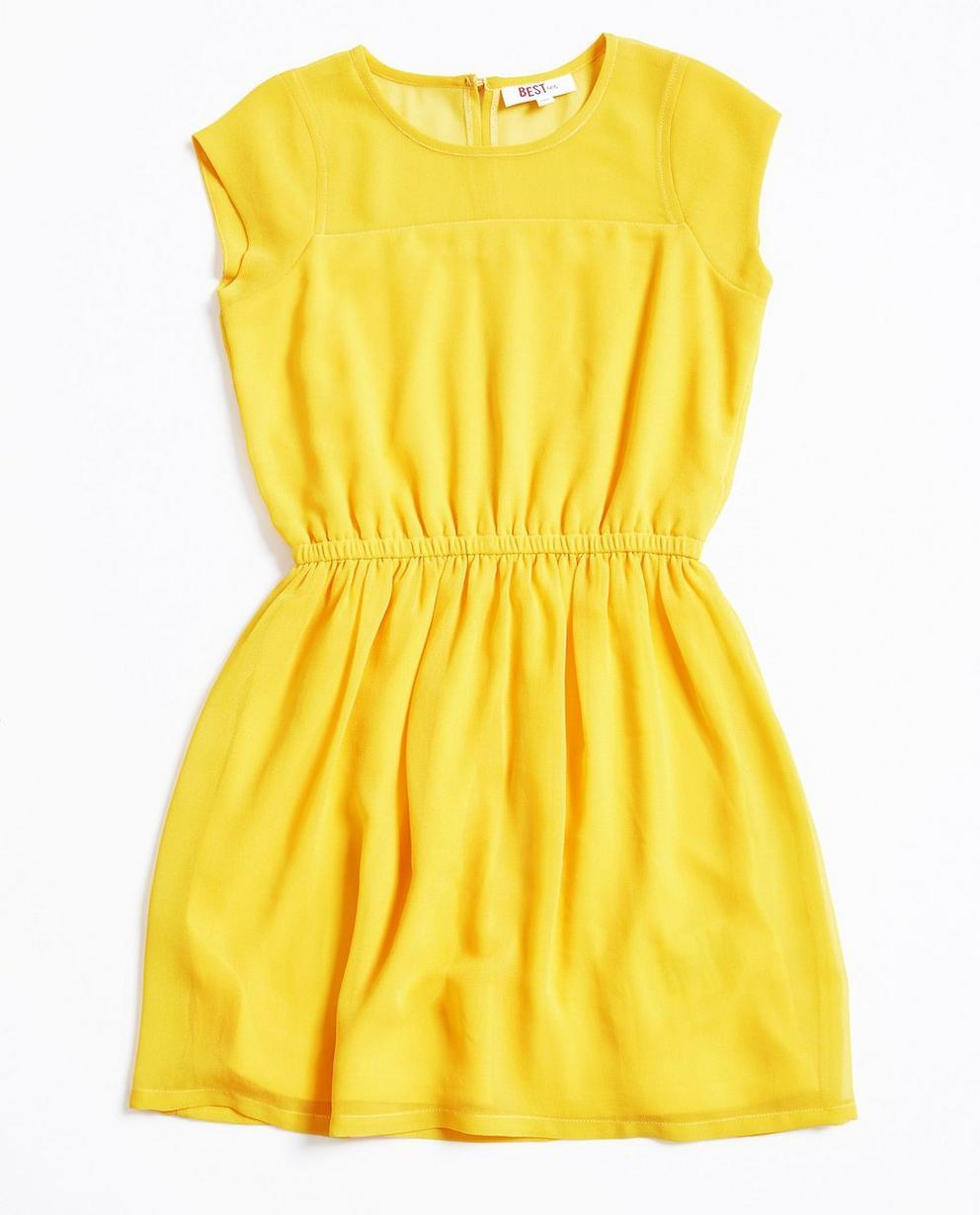 Petrolblauwe jurk BESTies FR - null - Best price